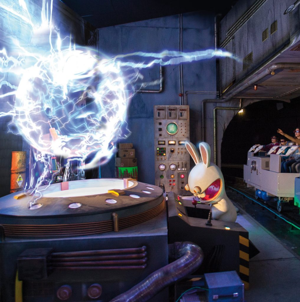 La Machine à Voyager dans le Temps des Lapins Crétins