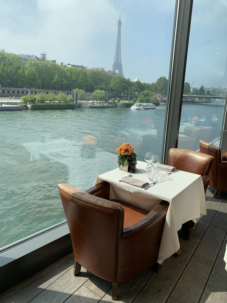 le club restaurant vue tour eiffel