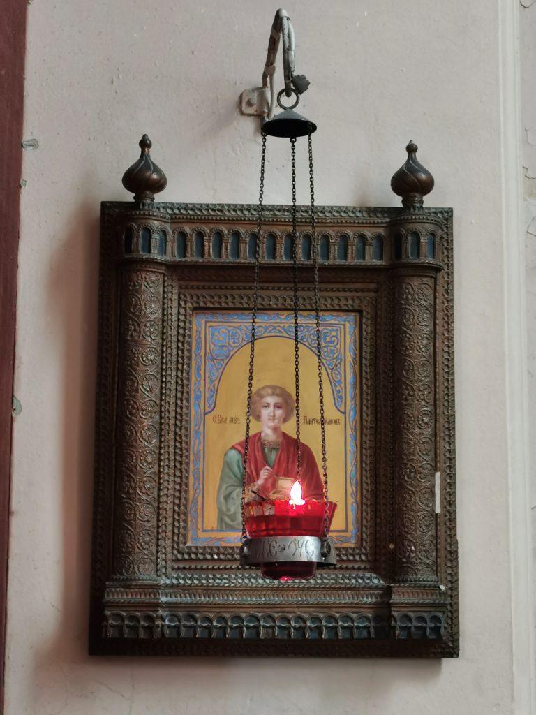 icônes de Saint-Pétersbourg de l'église orthodoxe russe