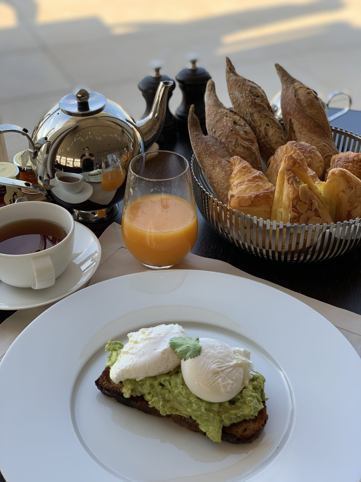 royal champagne-petit déjeuner