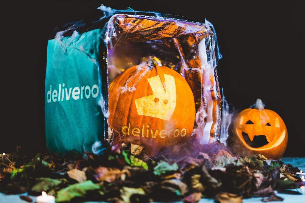 Deliveroo + Halloween