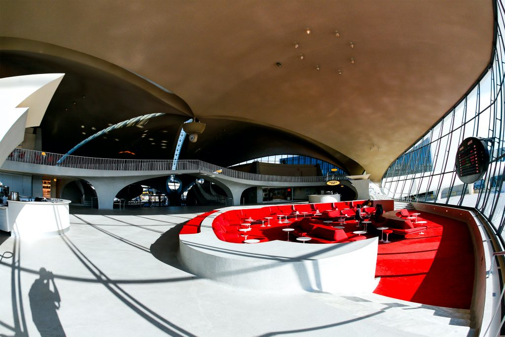 TWA Hotel at John F Kennedy International Airport