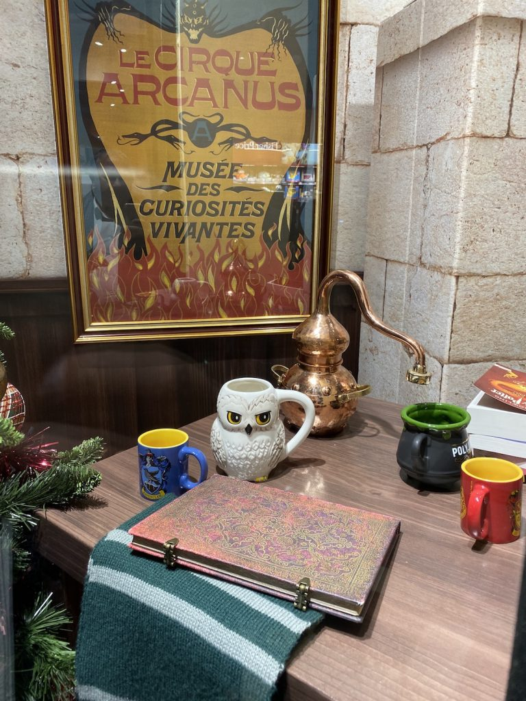 agenda du 4 au 11 novembre. Harry Potter.