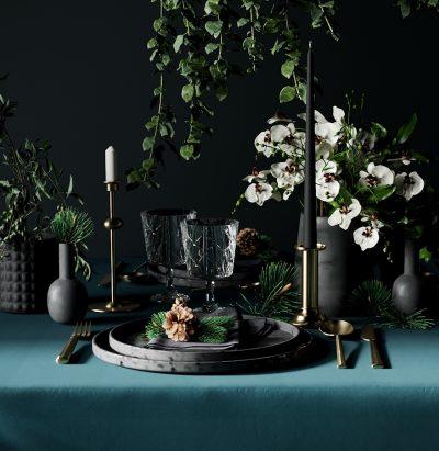 Table de fête Noire -