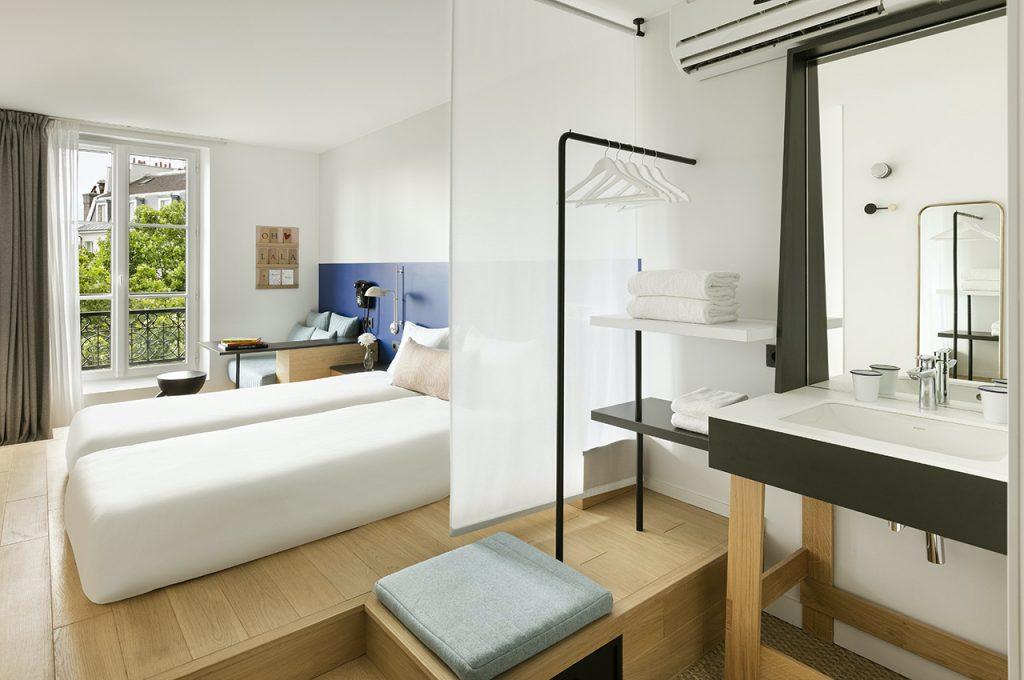 petits espaces. OH LA LA ! HOTEL BAR - Paris