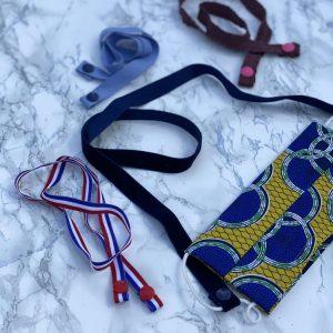 cordons pour masques. costura.madamecrobalo