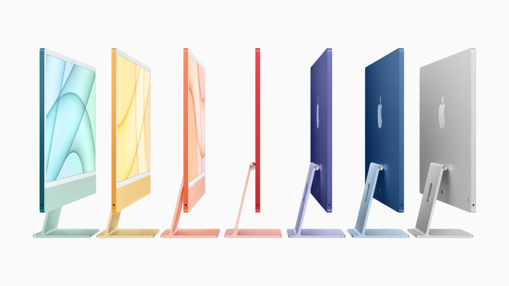 iMac 2021 Apple 7 couleurs @madamecrobalo